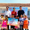 Naraco Co., Ltd. has contributed gifts of 50 million VND to Diep Son students